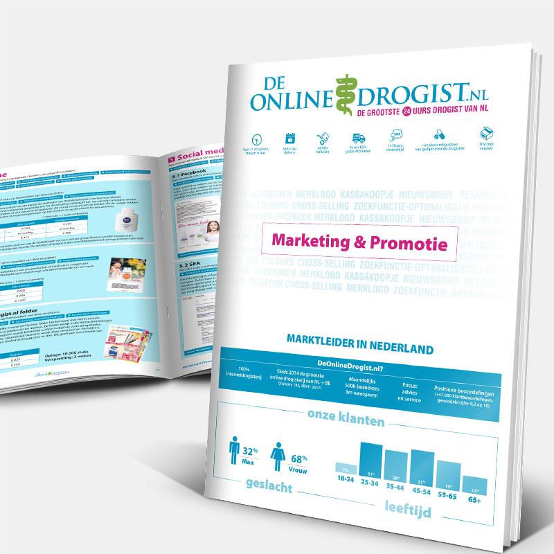 De Online Drogist - Marketingfolder
