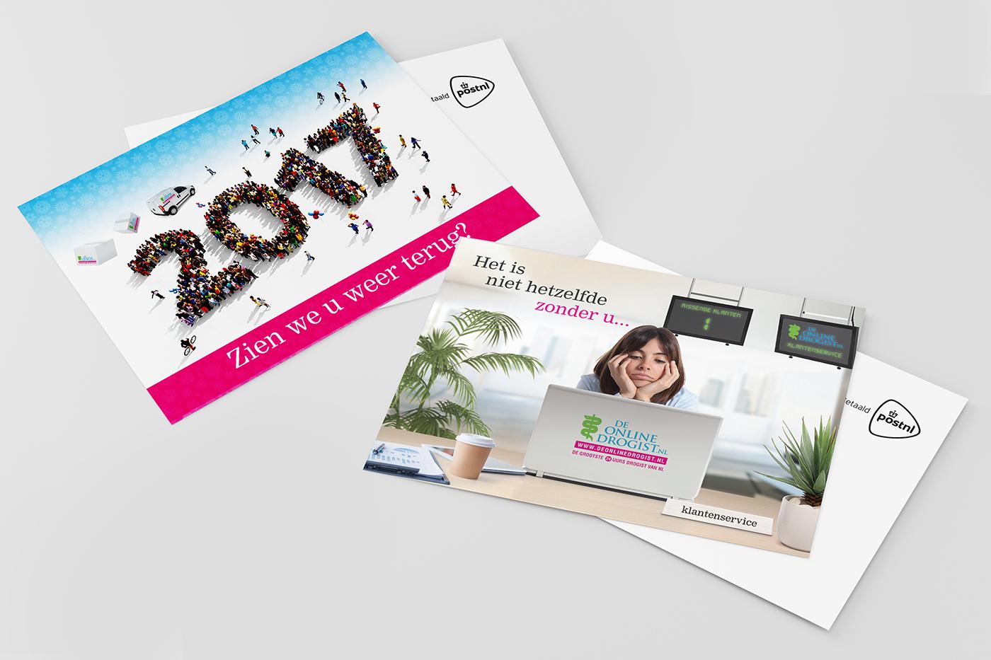 De Online Drogist - Postkaarten Actie
