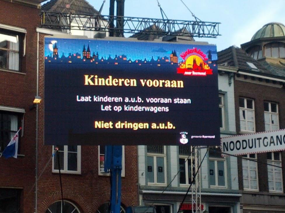 Landelijke Intocht Sinterklaas 2012 in Roermond