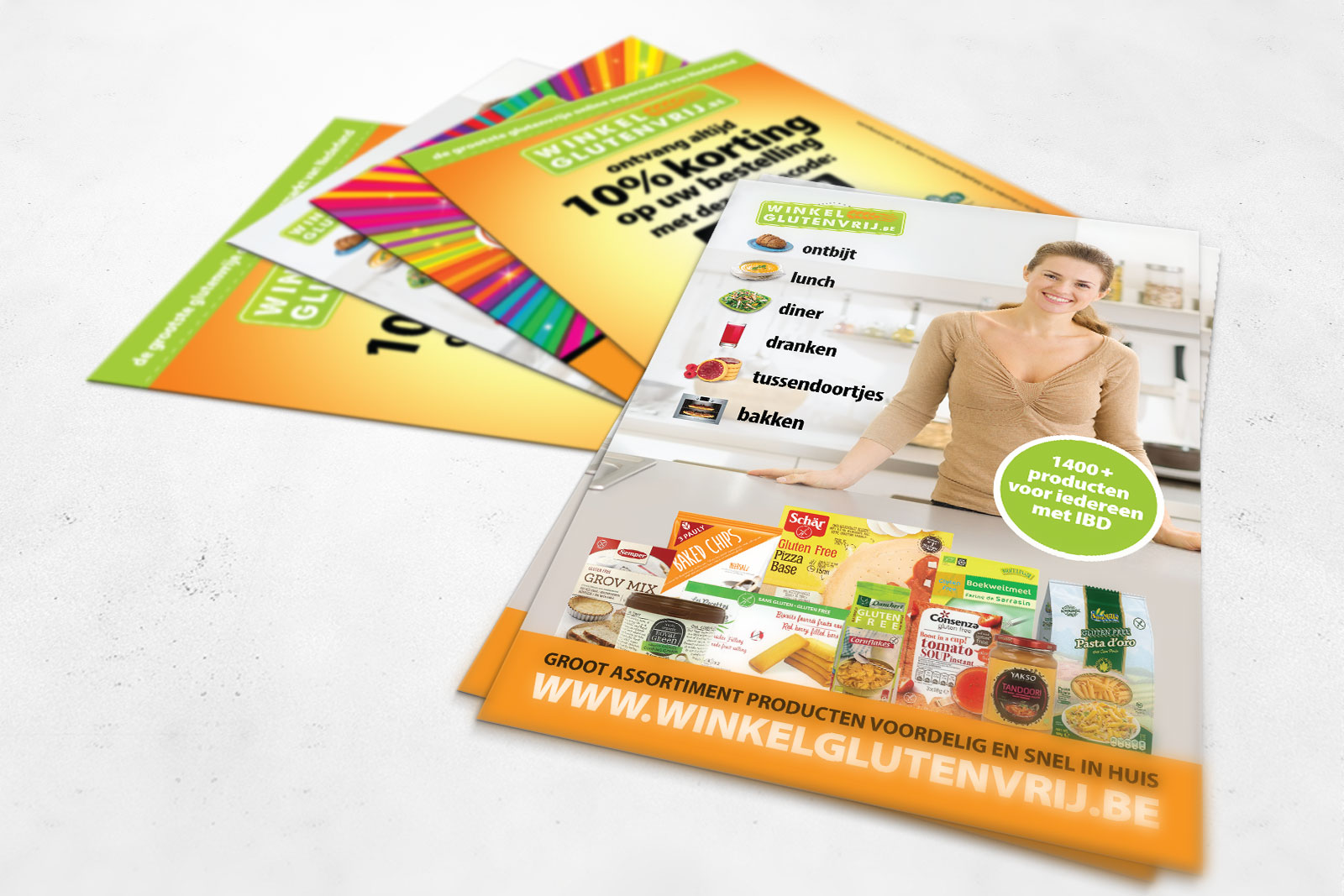 Design Flyers en promotionele items