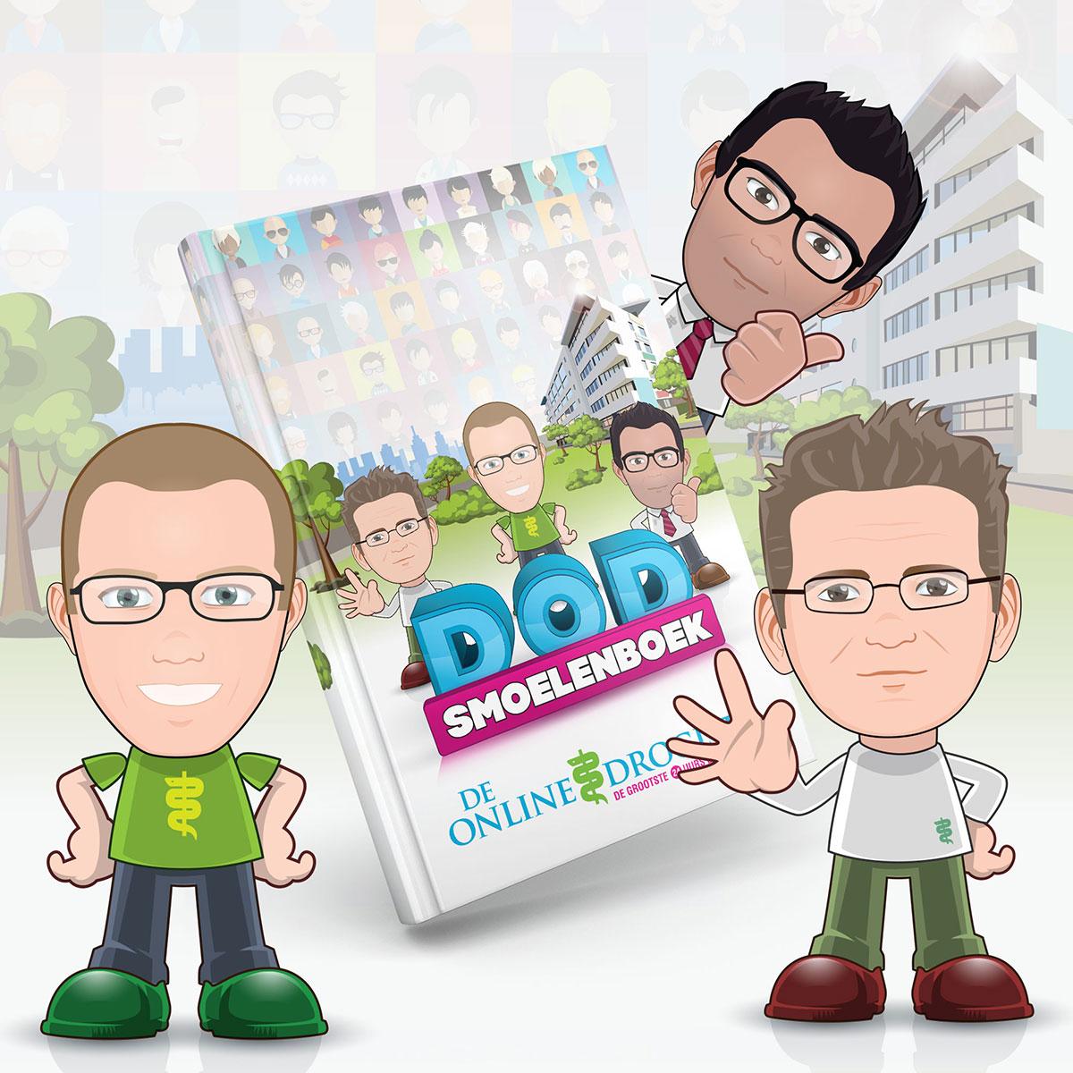 De Online Drogist - Smoelenboek